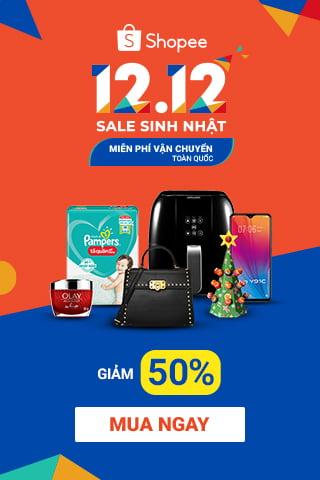Lễ hội mua sắm 12-12 tại Shopee Việt Nam