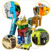 ROBOT BIẾN HÌNH TỪ NHỮNG CON SỐ